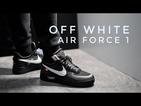 Off White Air Force 1 (Black) On Foot & Review YouTube YouTube