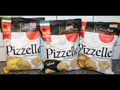 La Collina Toscana Pizzelle Italian Waffle Cookie: Lemon, Anise & Vanilla Review