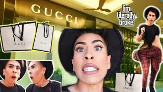 Pretending To Be RICH at GUCCI | Louie's Life