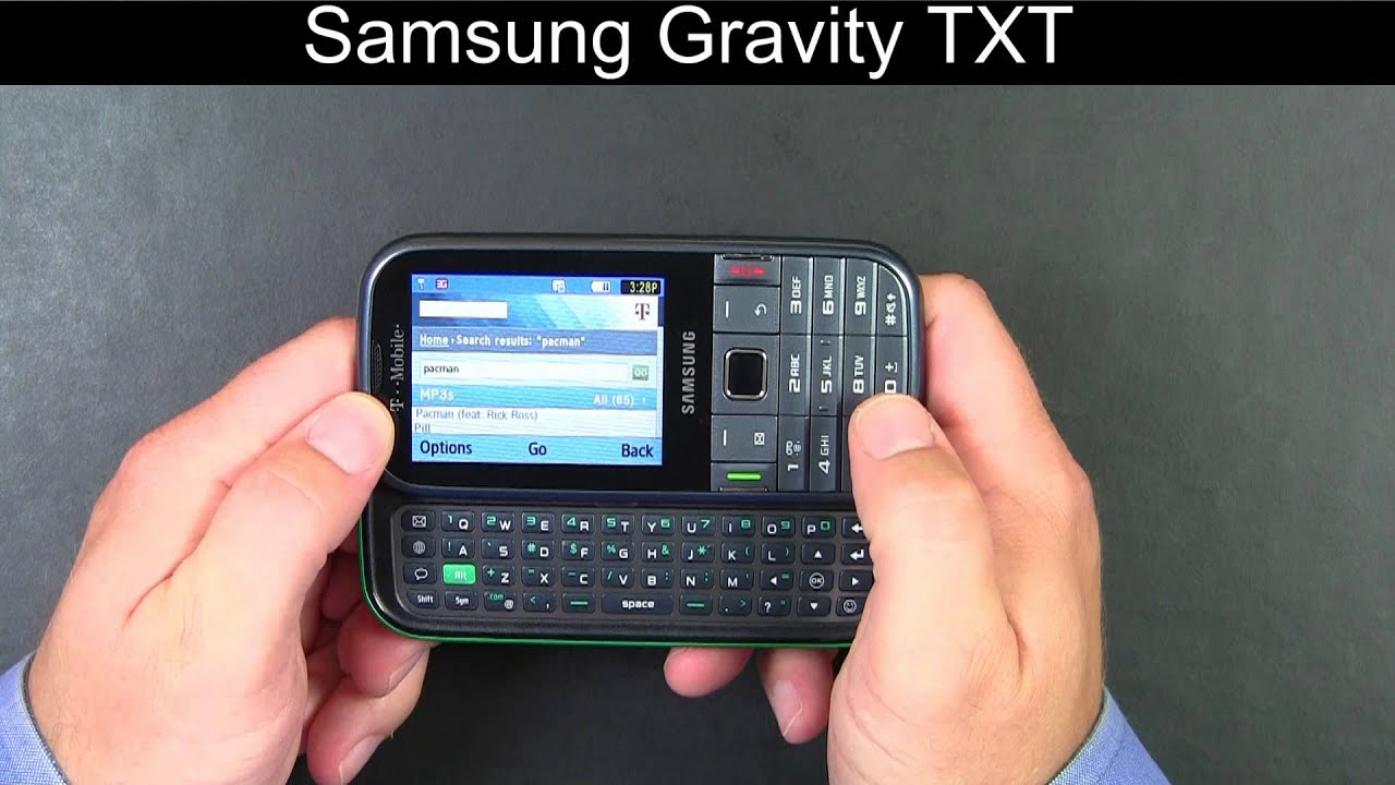 Samsung Gravity TXT review - Engadget