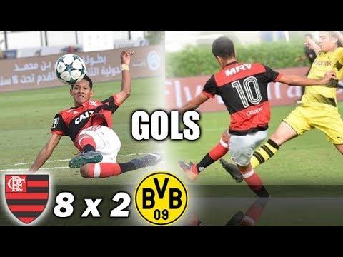 Flamengo 8 x 2 Borussia Dortmund * Campeonato Internacional de Dubai Sub-16 * Semi-Final