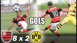 Скачать Flamengo 8 X 2 Borussia Dortmund Campeonato Internacional De Dubai Sub 16 Semi Final