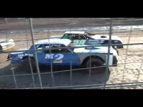 4.23.16--Peoria Speedway--Street Stock  Heat Race