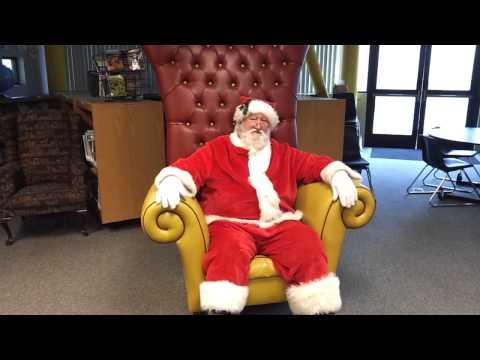 Campbell Kiwanis takes Santa Claus to Rosemary Elementary School II 12.14.2011