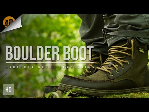 e47f3f8b723 Lems Shoes Boulder Boot | Barefoot Boots Field Review - YouTube