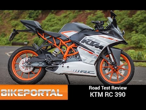KTM RC390 Test Ride Review  - Bikeportal