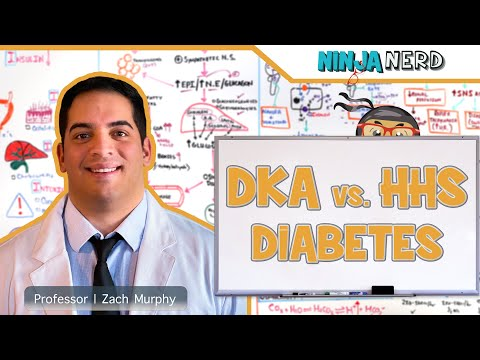 Diabetes Mellitus | What Is Diabetic Ketoacidosis (DKA) & Hyperglycemic Hyperosmolar Syndrome (HHS)