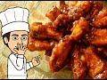 Крылышки в сладком чили и барбекю соусе без масло и рис с шафраном от  кулинарного шоу жарь пей