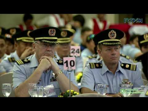 33rd Philippine Coast Guard Auxiliary (PCGA) National Convention (Speech) 5/19/2017