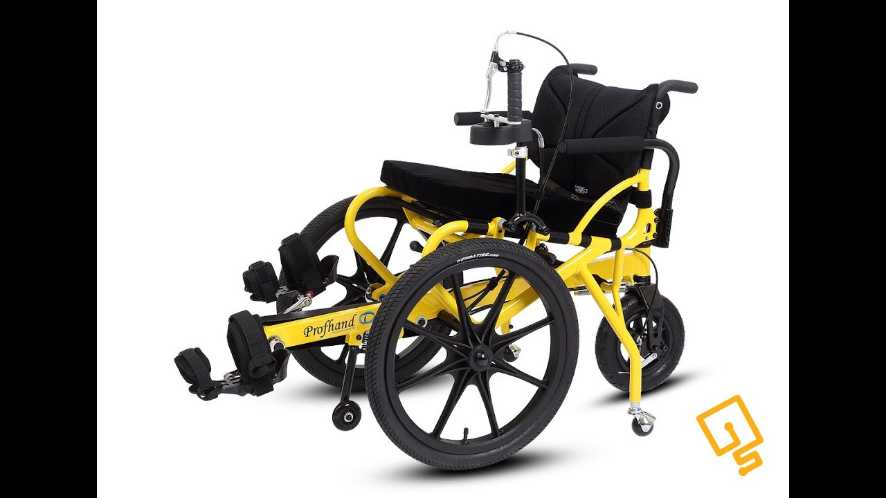 Profhand pedal rehab mobility wheelchair by innovation for Mobility chair