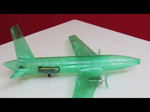 How To Make a Pet Bottle Airplane - Twin Engine Airplane