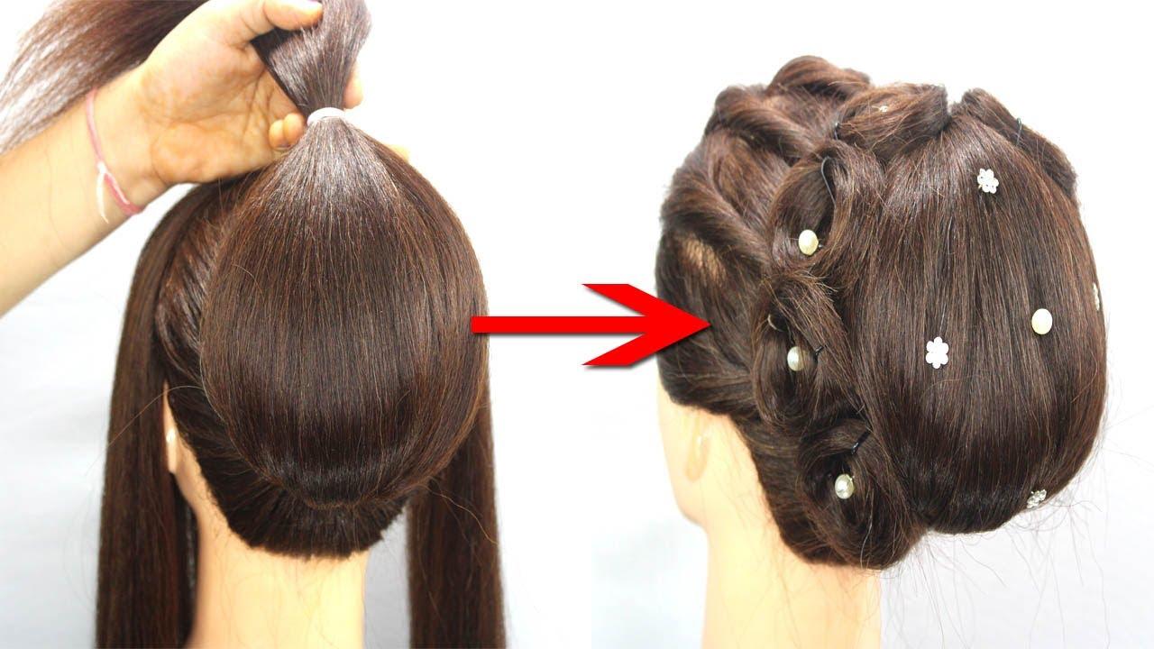 COOL HAIRSTYLES AND HAIR HACKS || Hair Hacks And Tips For Bridal Juda Hairstyle #juda