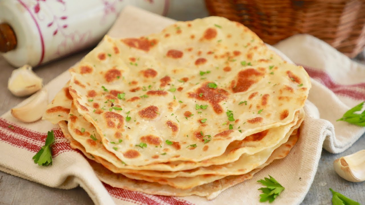 3 Ingredient Flatbread Recipe - Gemma's Bigger Bolder Baking