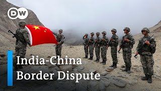 India and China brące for border standoff | DW News
