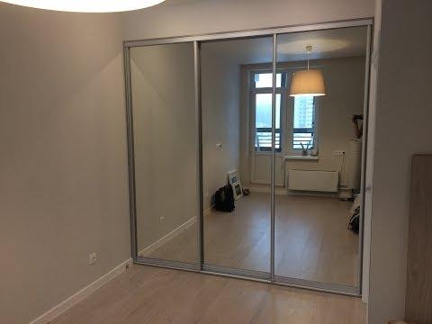шкаф-купе ромбами зеркала!