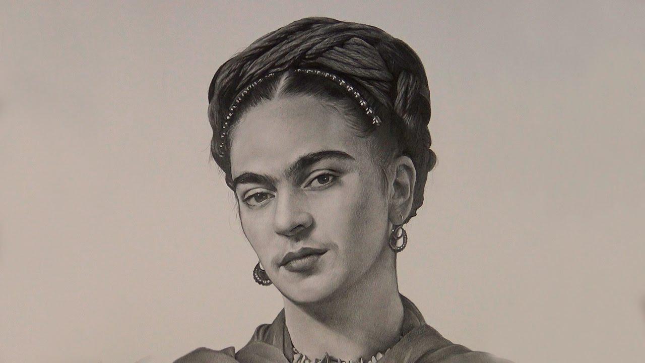 Frida Kahlo Para Dibujar: Dibujando A Frida Kahlo