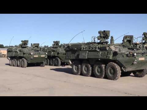 460th Chem M1135 Stryker NBCRV Rollout And Training
