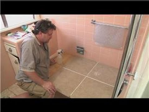 Cleaning Tile Cleaning Unglazed Ceramic Floor Tile YouTube - Bathroom ceramic tile cleaner