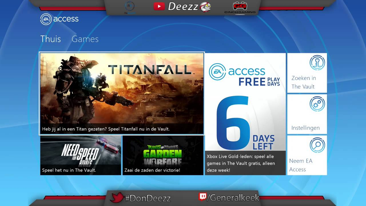 Ea Access Hub Playing Titanfall And More Games Free On