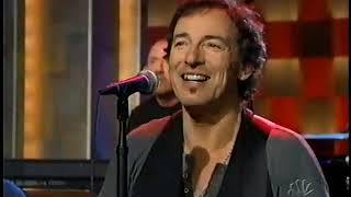 Bruce Springsteen & the E Street Band - Live on Conan - 12/11/2002