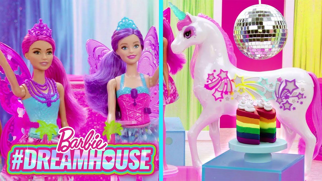 RAINBOW MAGIC DANCE & CHELSEA COLOR REVEAL MERMAIDS 🌈💃🏼🕺| #DreamHouse Episode 7 | @Barbie