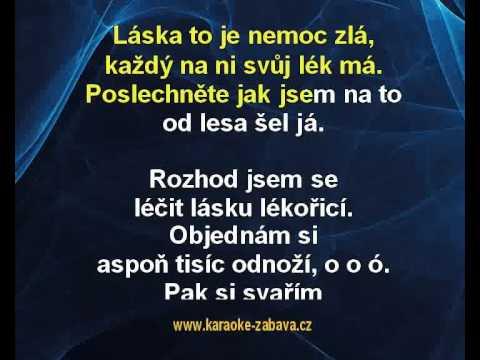 Lékořice - Václav Neckář Karaoke tip