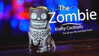 How to Make a Zombie!  Best Tiki Drinks by Krafty Cocktails!