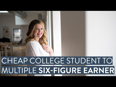 From cheap college student freelancer to multiple 6-figure earner