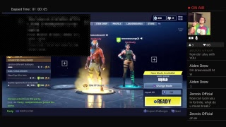 Ps4 FORTNITE live stream Duos and more