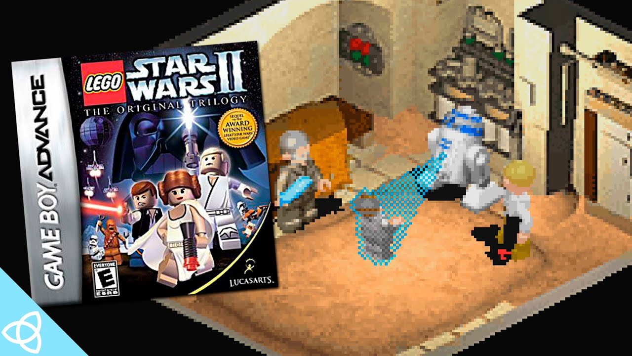 Lego Star Wars Ii Gba Gameplay Demakes 32 Youtube