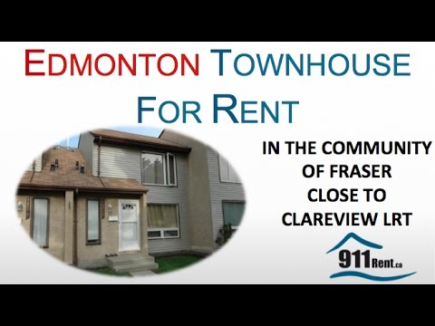 Townhouse for Rent in Edmonton (H10)