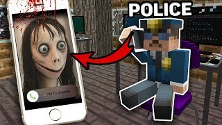Minecraft SCARY CALL TO POLICE 3:00 AM! SCARY MINECRAFT HORROR Challenge IN MINECRAFT ANIMATION!