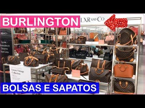 BURLINGTON vende LOUIS VUITTON e PRADA? Compras em ORLANDO de BOLSAS e SAPATOS com PREÇOS! 😱
