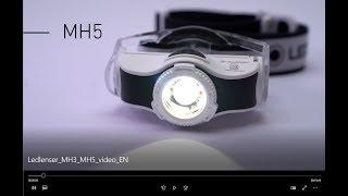 Ledlenser MH3 MH5 Headlamps