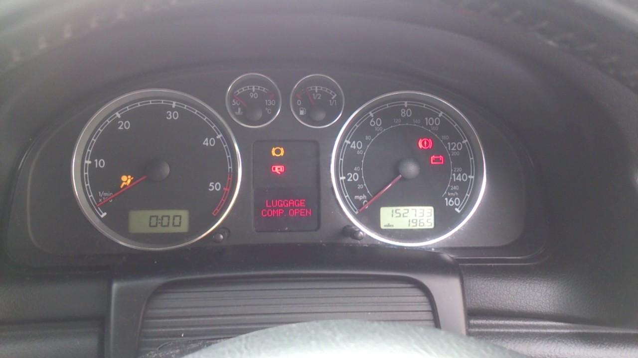 VW PASSAT 2002 1 9TDI 130BHP STARTING PROBLEMS PART 1