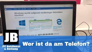 ☏Telefon Prank ☏ Windows wurde aufgrund verdächtiger Aktivitäten blockiert. Wer ist da am Telefon??