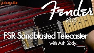 Fender 2015 - Sandblasted Telecaster