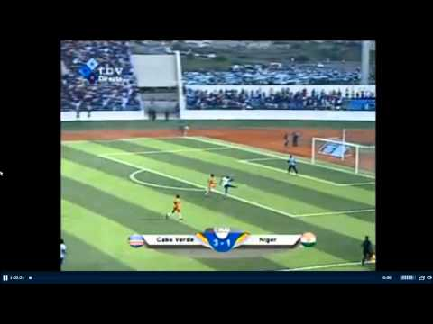 Gol Lima Cape Verde - Niger 3 - 1 15/11/2014