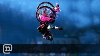 "Wheelchair Frontflip By Aaron ""Wheelz"" Fotheringham - Nitro Circus Live"