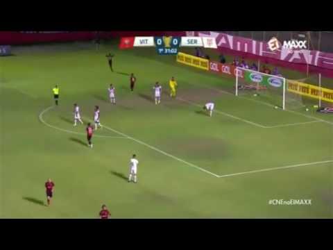 GOLS - VITÓRIA-BA 3×1 SERGIPE-SE 1°RODADA COPA DO NORDESTE 2017