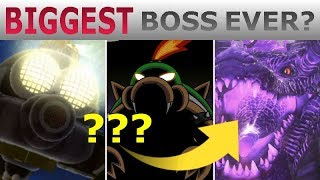 10 BIGGEST Mario Bosses of All Time!