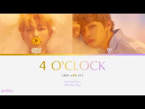 RM X V (BTS) - 4 O'Clock Color Coded Lyrics [Han/Rom/Eng]