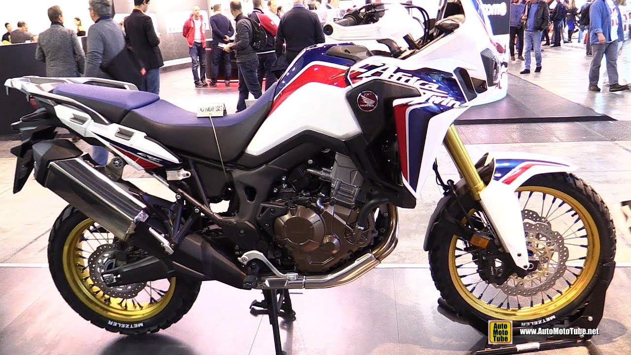 Honda Africa Twin With Alpina Wheels Walkaround EICMA - Alpina motorcycle wheels