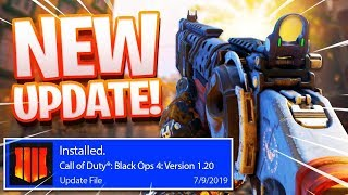 NEW Black Ops 4 1.20 Update.. (COD BO4)