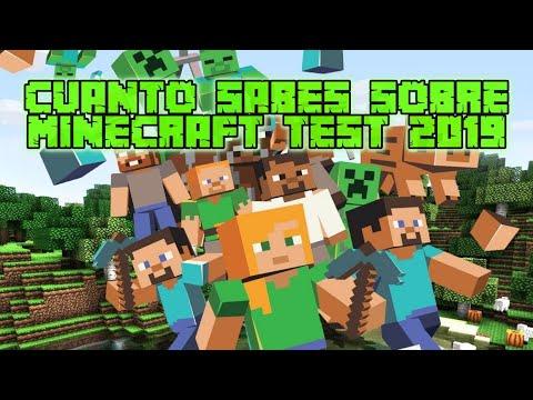 ¿Cuanto Sabes Sobre Minecraft? TEST | 2020 | GoldemSheep