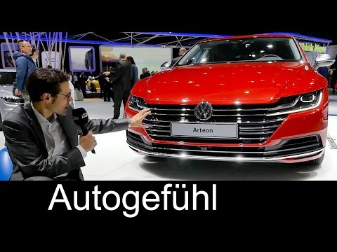 VW Arteon REVIEW all-new mid-size Volkswagen Fastback (new CC)