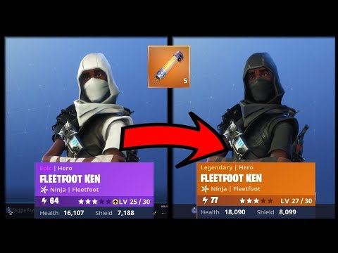 How to Upgrade Heroes?!?!? | Fortnite PvE