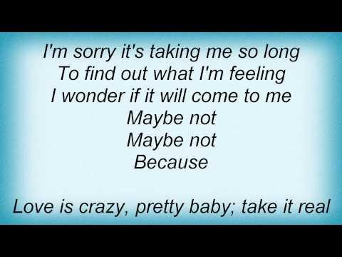 Colbie Caillat - Feelings Show Lyrics