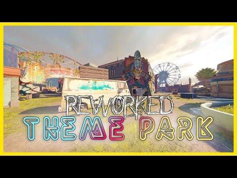 Theme Park Rework   FULL Map Tour   Operation Shifting Tides   Rainbow Six Siege
