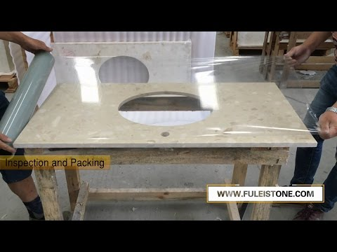 Countertops and Vanity Tops Processing in China Factory